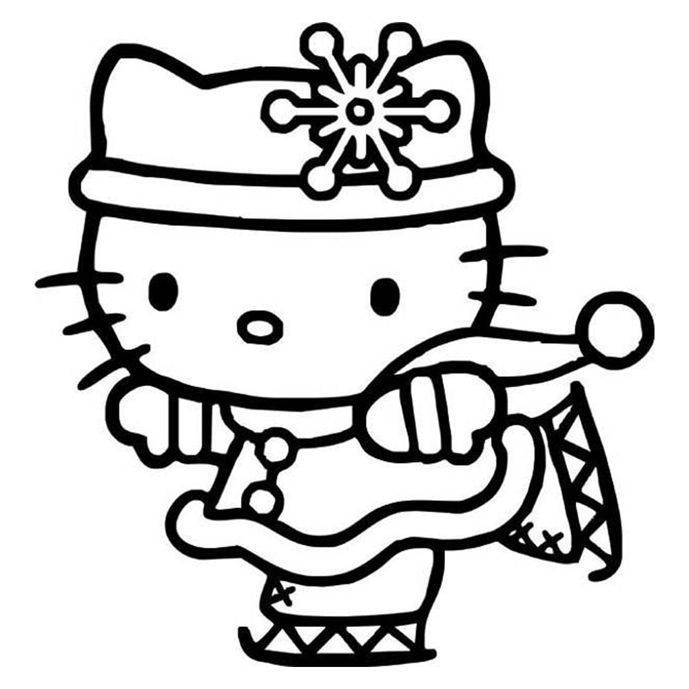 Free Hello Kitty Pumpkin Templates