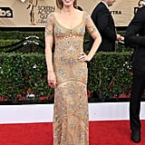Emily Blunt's Roberto Cavalli Dress SAG Awards 2017
