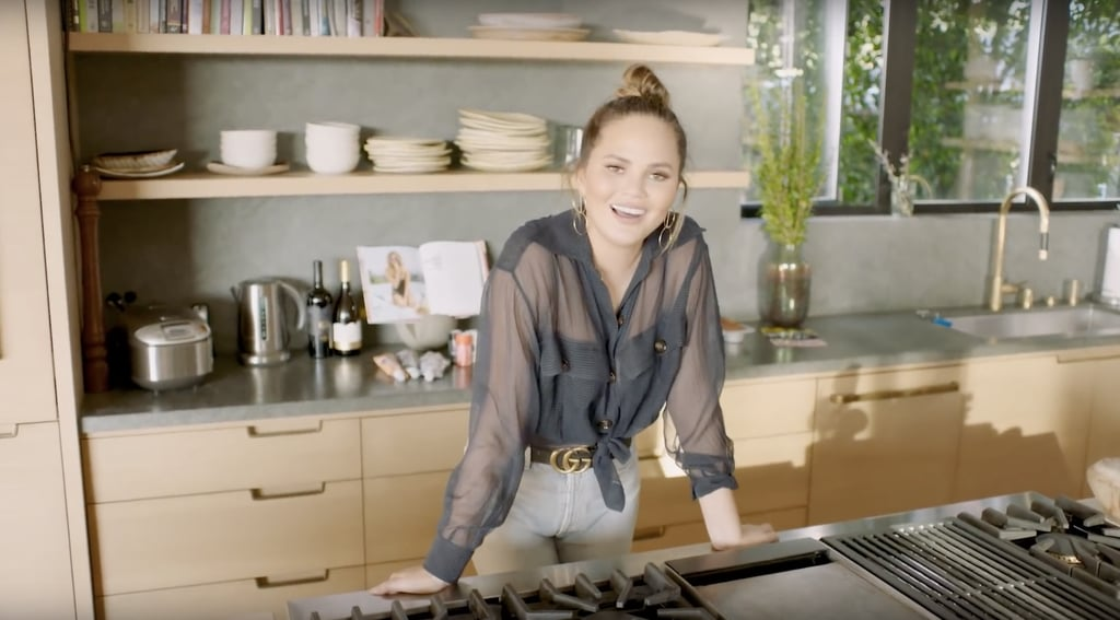 Chrissy Teigen and John Legend's Entire Home Is Gorgeous, but We're Obsessed With the Kitchen
