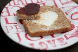 Egg in a Heart -Valentine's Day Breakfast