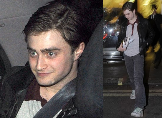 10/6/2009 Daniel Radcliffe at The Ivy in London