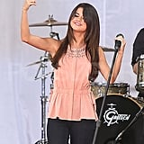 Selena Gomez Greets Central Park and Her Monte Carlo Costars, Leighton and Cory!
