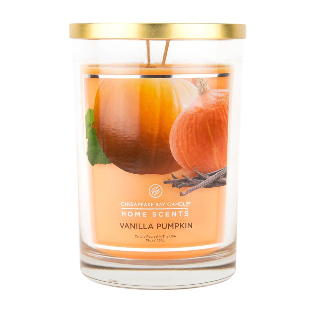 Vanilla Pumpkin Glass Jar 2-Wick Candle
