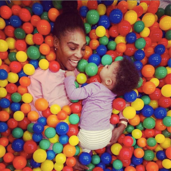 Serena Williams Hasn't Spent a Day Apart From Olympia
