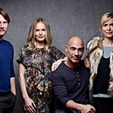 John Robinson, Kate Bosworth, Jean-Marc Barr, and Radha Mitchell looked lovely representing Big Sur at the film festival.