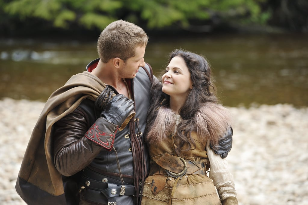 "We never tire of hearing about Josh Dallas and Ginnifer Goodwin's real-life fairy tale. During an appearance on Live With Kelly and Ryan on Friday, the former Once Upon a Time star gushed about how magical it was meeting and falling in love with his wife on set. Though they were playing love interests on the show, he said they weren't too worried about mixing business with pleasure. ""No, we didn't fight it,"" he told the hosts about falling for his costar. ""We went straight for it.""  And thank goodness they did. In addition to getting married in April 2014, the couple are now parents to two boys, 4-year-old Oliver and 2-year-old Hugo. While the pair has since moved on to different shows — Josh is currently on NBC's Manifest and Ginnifer is set to star on ABC's Steps — the actor is optimistic they'll work together again soon. See the rest of his adorable video ahead, along with some of the pair's sweetest moments."