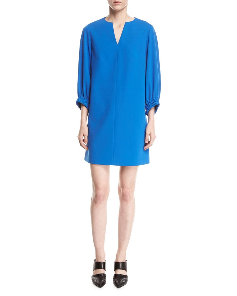 Tibi Crepe Shift Dress