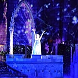 """A Frozen Holiday Wish"" Show at Cinderella's Castle"