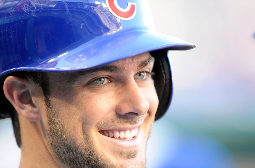 We loved seeing the Chicago Cubs wins the World Series, but do you know what we love even more? Staring at Kris Bryant. The 24-year-old baseball player is seriously hot. We don't know if it's those blue eyes or his devilish grin, but he's really got it going on. Especially in those tight baseball pants. Now that he's a World Series champion, we are hoping to see a lot more of him. He's already modeling for Express, so do you think we could get him in something smaller than a suit? Fingers crossed. Check out all our favorite pictures of this Cubs cutie.      Related:                                                                In Celebration of the Cubs Winning the World Series, We Bring You Jake Arrieta Pitching Naked                                                                   Bill Murray's Joy at the Cubs Winning the World Series Proves That Dreams Really Do Come True