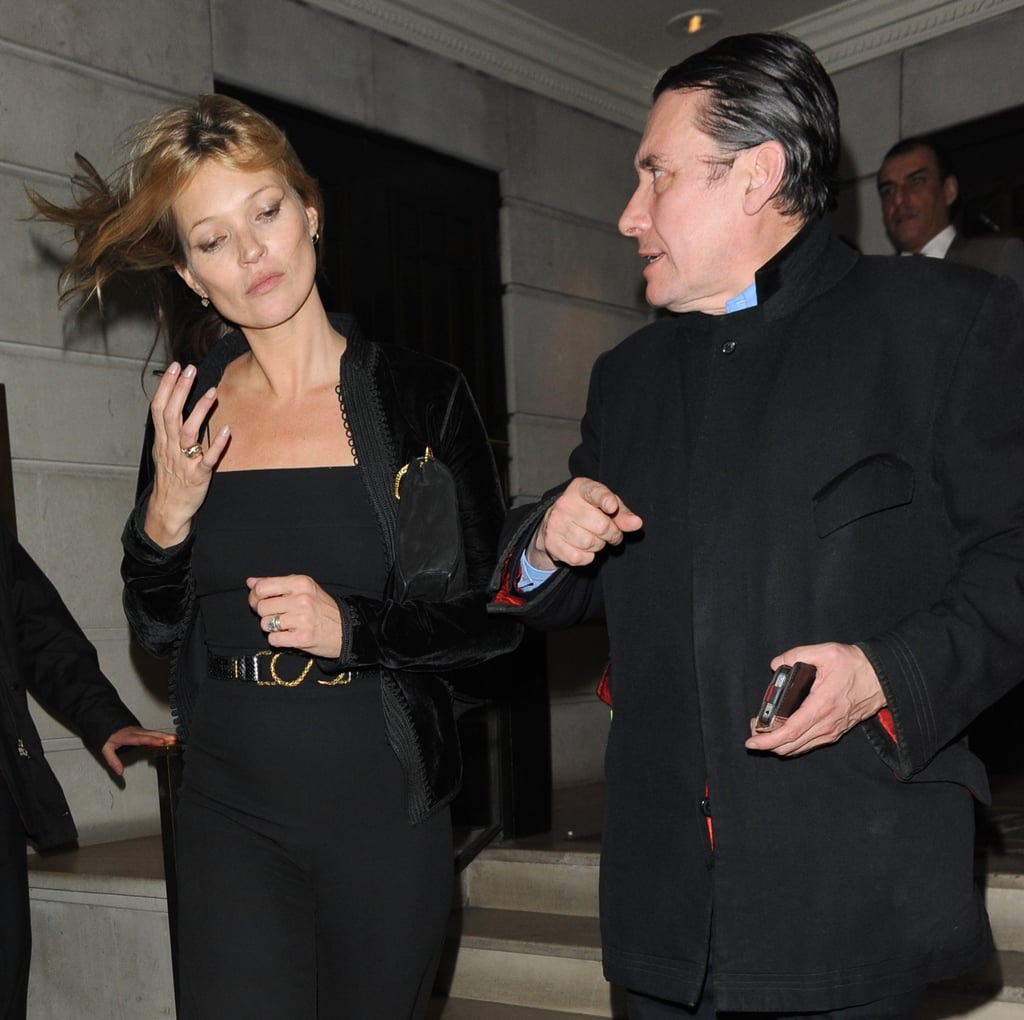Kate Moss was out in London.
