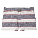 Nautical Striped Shorts