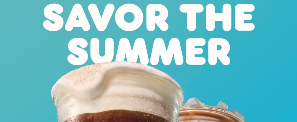 Dunkin's New Cold Coffee Drinks For Summer 2021