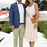 Prime Minister Tony Abbott's daughter Frances attended with Lindsay Smith.