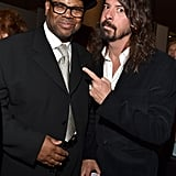 Pictured: Jimmy Jam and Dave Grohl