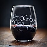 Wine Chemistry Stemless Glass