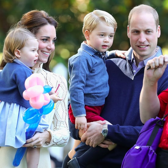 Prince William and Kate Middleton Christmas Card 2016