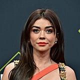 Sarah Hyland's Orange Lips