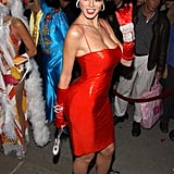 Heidi Klum was dolled up as Betty Boop to host her annual Halloween party in 2002.
