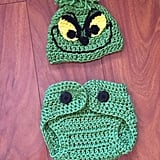 Crochet Baby Grinch Inspired Costume