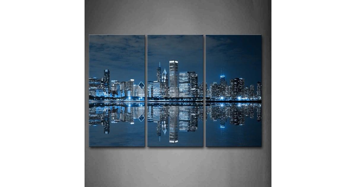 Firstwallart Blue Cool Chicago Wall Art | Best Wall Art From Amazon |  POPSUGAR Home Photo 9