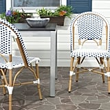 Safavieh Toulouse Wicker Patio Side Chair Set