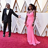 Pictured: Julius Tennon and Viola Davis