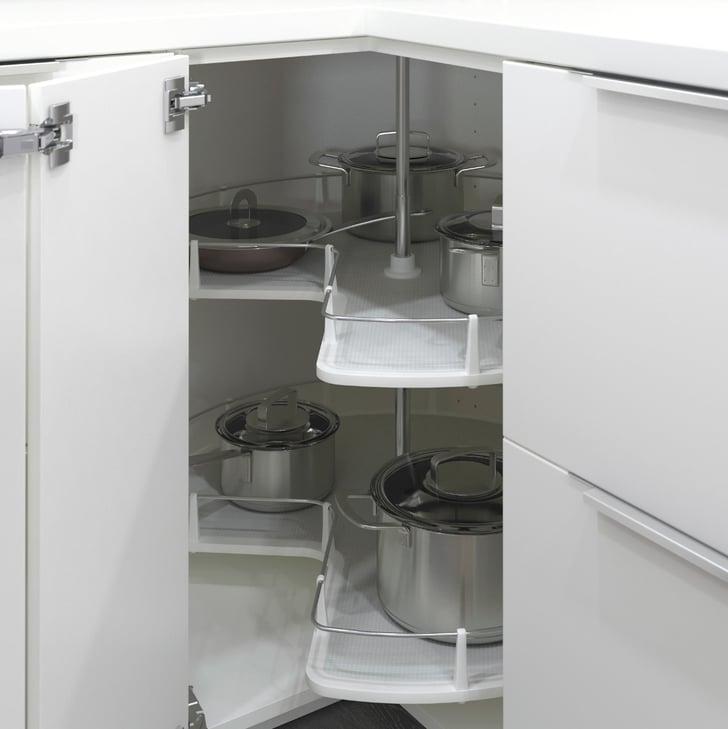 Cuisine Element: Utrusta Corner Base Cabinet Carousel