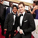 Pictured: Andrew Garfield and Sunny Pawar