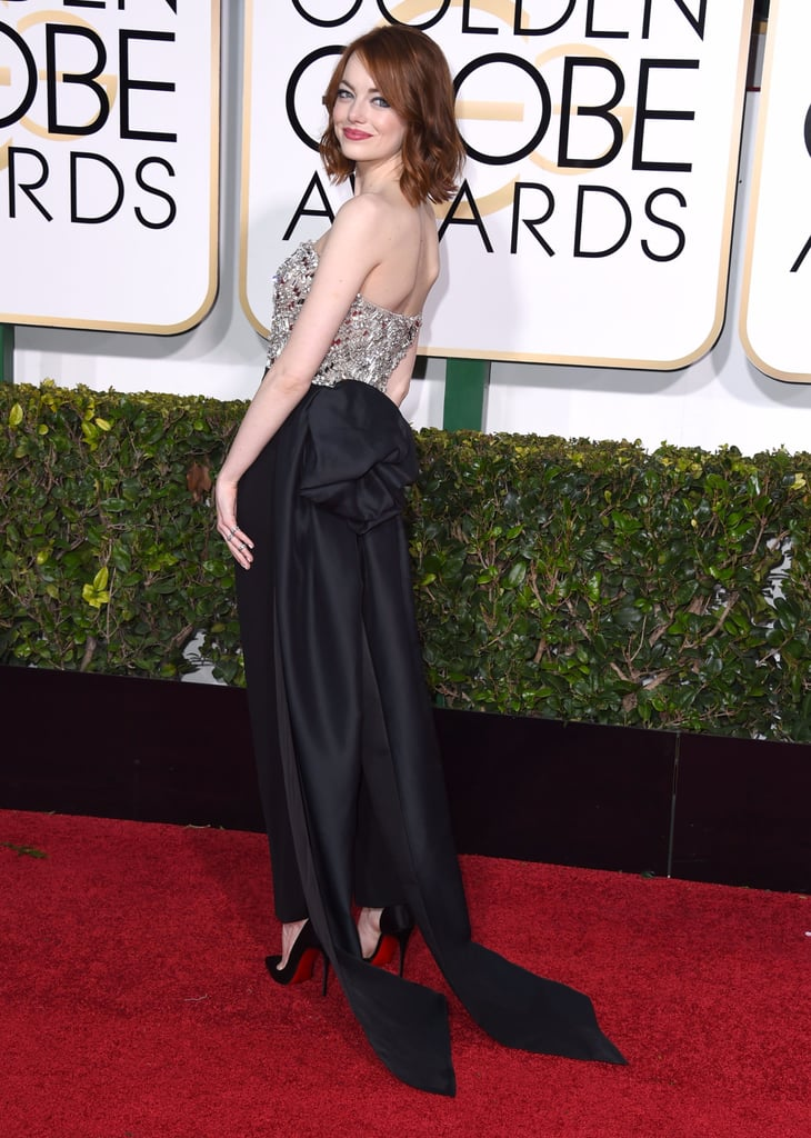 Emma Stone's Award Season Red Carpet Dresses