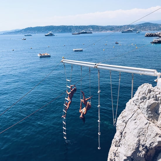 Ladder Over the Ocean at Hotel du Cap-Eden-Roc in Antibes