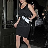 Kate Winslet Spends an Evening With Her British Film Friends