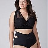 Lane Bryant Dot Mesh Convertible Bikini