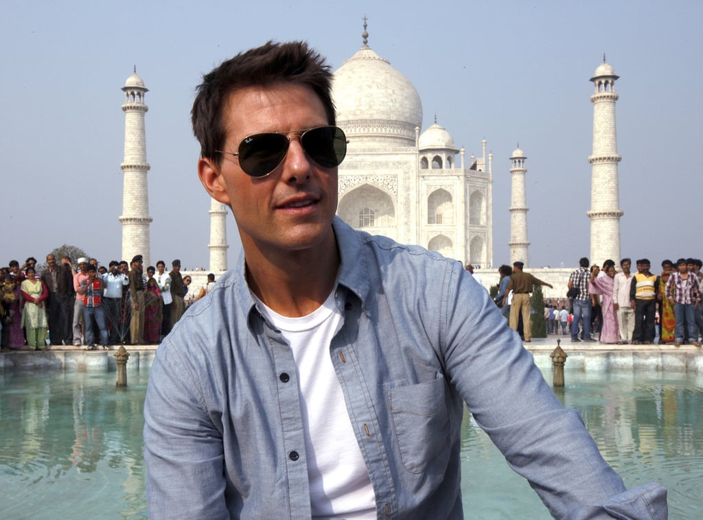 "Tom Cruise joined actor Anil Kapoor Saturday for a photo op at the Taj Mahal. It was one of the highlights of Tom's trip in India, which culminated last night with a Mission: Impossible — Ghost Protocol premiere in Mumbai. Tom apparently bedded down at that city's famed Taj Hotel over the weekend, where Anil hosted a VIP party from him and 150 guests Saturday. Tom was appreciative of all the effort put in by Anil, who has a cameo in MI4.  At yesterday's red carpet event, Tom said he'd loved to work in India. He said, ""I love watching Hindi movies. There are many Hindi movies that come out every year, but I do watch a few of them. [If offered a Bollywood film] I would never say no. I would love to do it."" There will be another press opportunity for Tom Wednesday when he and the cast reunite in Dubai for their world premiere."