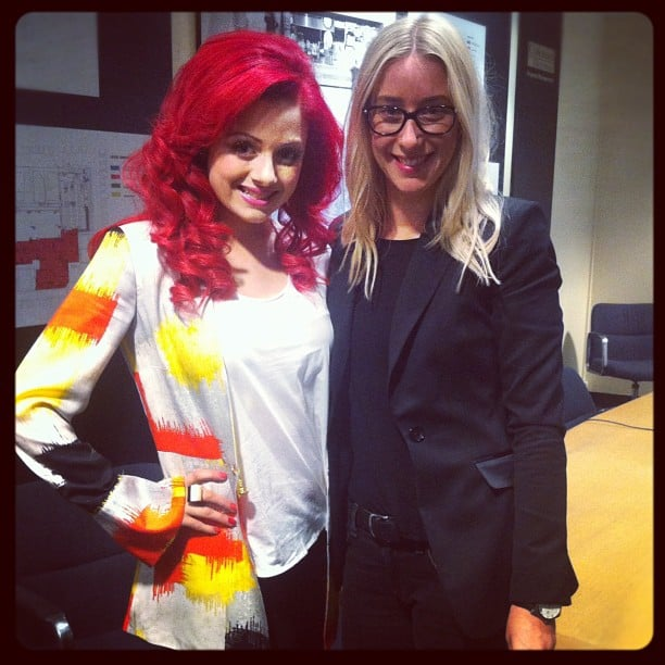 Sarah De Bono and Bella ed Alison took time out from the Kiehl's store opening for a quick snap.