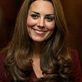 Kate Middleton smiled during the event.