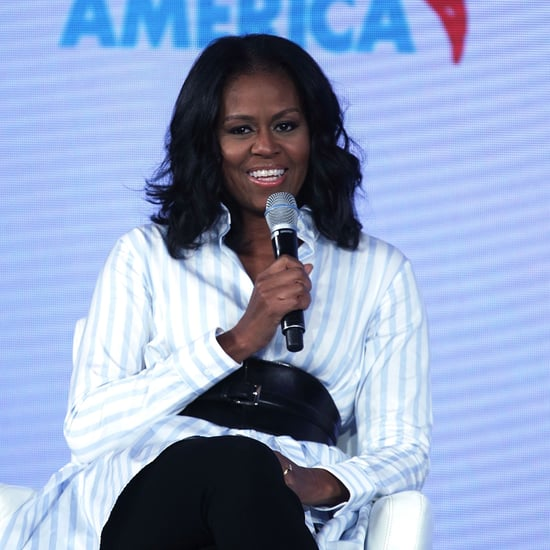 Michelle Obama Wearing Corset