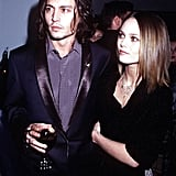 In November 1999, Johnny Depp and Vanessa Paradis went to the LA premiere of Sleepy Hollow.