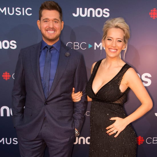Michael Buble and Luisana Lopilato at the 2018 Juno Awards
