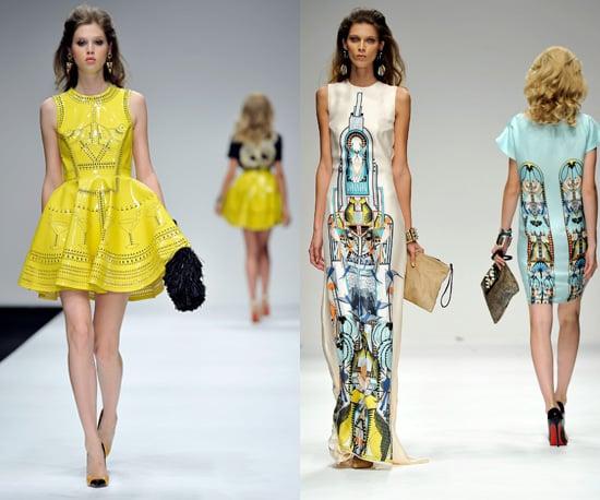 Photos of Holly Fulton Spring 2011 at London Fashion Week