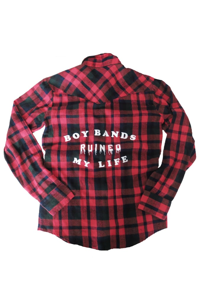 Boy Bands Ruined My Life Flannel ($48)