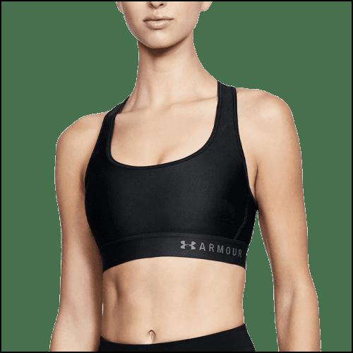 Armour® Mid Crossback Sports Bra
