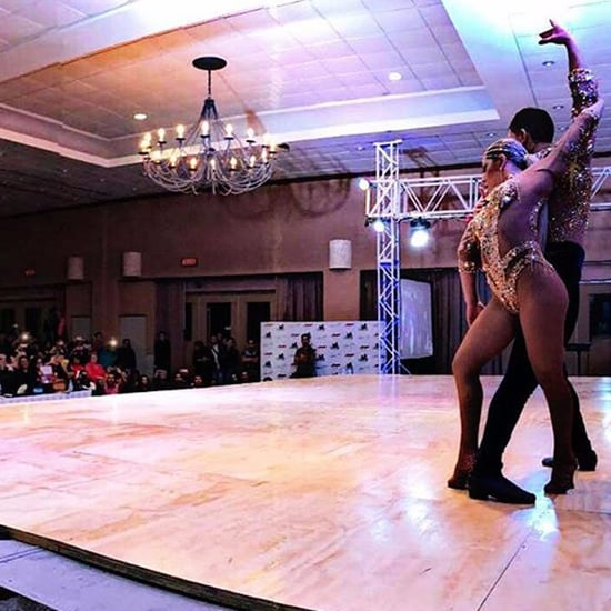 Salsa Cabaret Dancing Professional Couple Routine Video