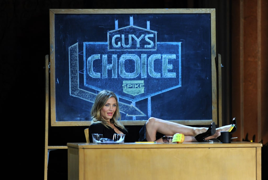 Jennifer, Ben, JT, and Cameron Make For a Rowdy Guys Choice Awards