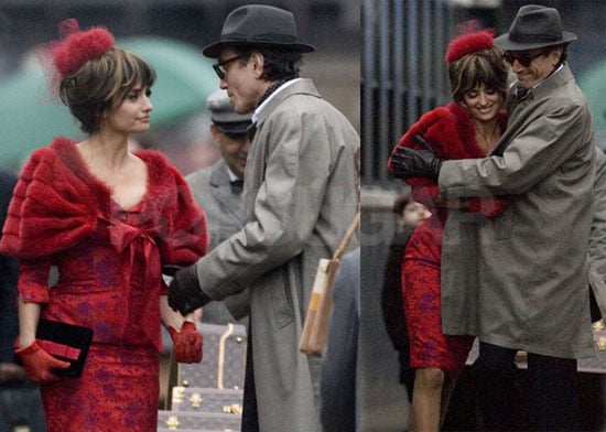 Photos of Penelope Cruz and Daniel Day-Lewis on the Set of Nine