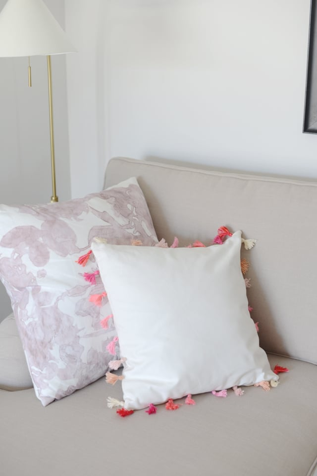 Add Flair to a Pillow