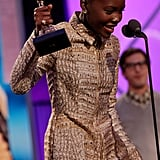 Lupita Nyong'o at the Spirit Awards 2014
