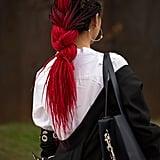 Winter Hair Colour Trend: Pops of Colour