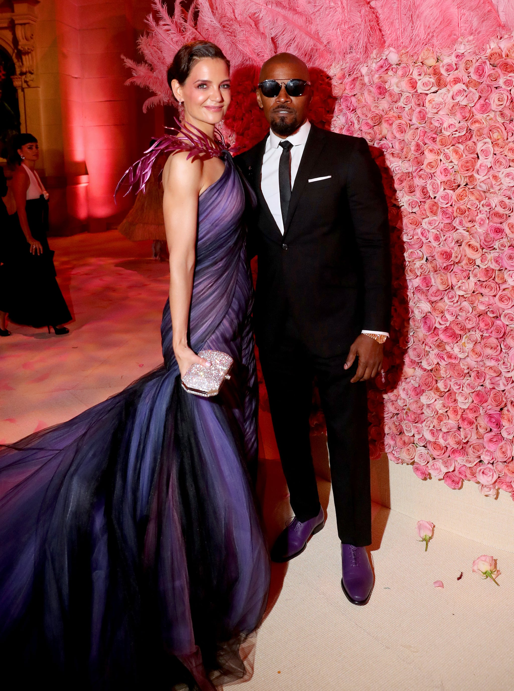 NEW YORK, NEW YORK - MAY 06: Katie Holmes and Jamie Foxx attend The 2019 Met Gala Celebrating Camp: Notes on Fashion at Metropolitan Museum of Art on May 06, 2019 in New York City. (Photo by Kevin Tachman/MG19/Getty Images for The Met Museum/Vogue)