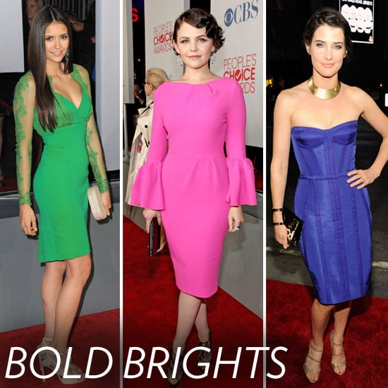 People's Choice Awards Trendspotting: Solid Vibrant Hues