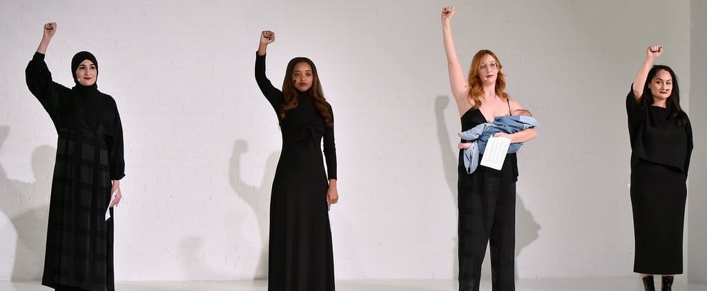 Women's March Founders at New York Fashion Week